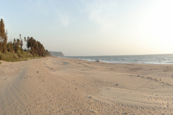 Sagareshwar Beach in vengurla